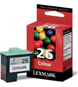 No 26 Ink Lexmark 10N0026E Color 275Pgs