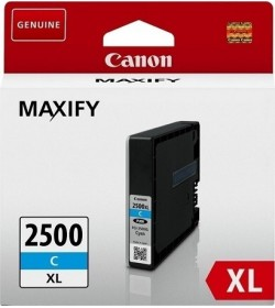 Canon PGI-2500XLC High Yield Cyan Ink Cartridge 1,75k