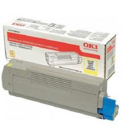 Toner Laser Oki 46507505 Yellow - 6K Pgs