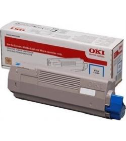 Toner Laser Oki 46507507 Cyan - 6K Pgs
