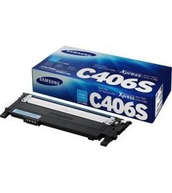 Toner Color Laser Samsung-HP CLT-C406S,ELS Cyan - 1K Pgs