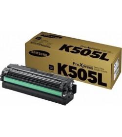 Toner Color Laser Samsung-HP CLT-K505L,ELS Black - 6k Pgs