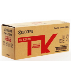 Toner Laser Kyocera Mita TK-5270M Magenta - 6K Pgs
