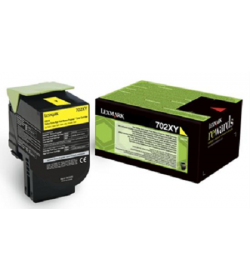 Toner Laser Lexmark 70C2XY0 Extra High Yield Yellow -4k Pgs