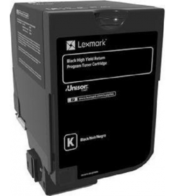 Toner Laser Lexmark 84C2HK0 High Yield Black -25k Pgs