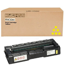 Toner Laser Ricoh SPC252HE 407719 Yellow 6k Pgs