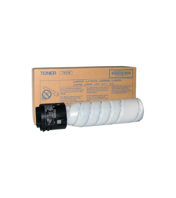 Toner Copier Konica-Minolta TN118Black - VE 2 24K Pgs