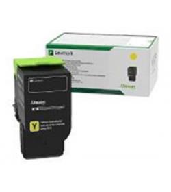 Toner Laser Lexmark 78C20Y0 Standard Yellow -1.4k Pgs
