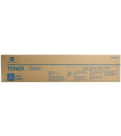 Toner Copier KonicaMinolta TN214C Cyan 18.5K Pages