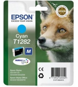 Ink Epson T12814011 Black with pigment ink new series Fox-Size M