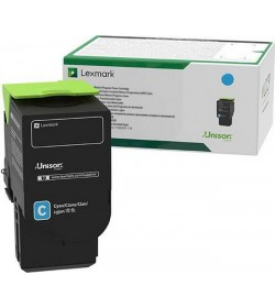 Toner Laser Lexmark C242XC0 Extra High Capacity Cyan -3.5k Pgs