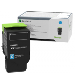 Toner Laser Lexmark C2320C0 Standard Cyan -1k Pgs