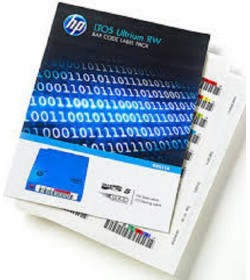 LTO-6 RW Label HP BarCode Pack