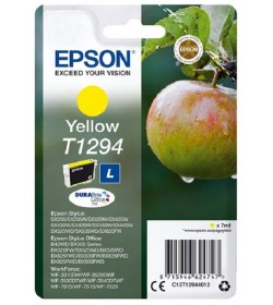 Ink Epson T12944010 Yellow with pigment ink new series Apple -Size L