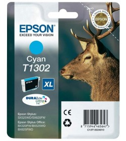 Ink Epson T13024010 Cyan with pigment ink new series Stag-Size XL