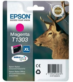 Ink Epson T13034010 Magenta with pigment ink new series Stag-Size XL
