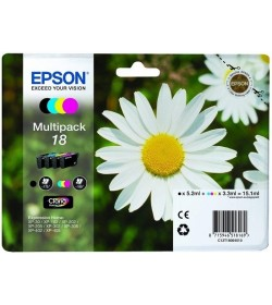 Ink Epson 18 T18064010 MultiPack 4 Ink Daisy series