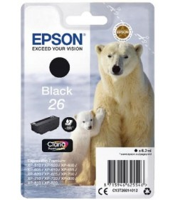 Ink Epson T260140 Black with pigment ink