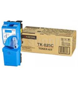 Toner Laser Kyocera Mita TK- 825C Cyan - 7k Pgs