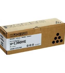 Toner Laser Ricoh SPC360HE Black 7k Pgs