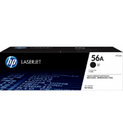HP 56A Black LaserJet Toner 7.4K ( CF256A )