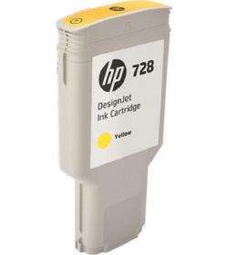 Ink HP DesignJet t730,T830 Yellow 300ml