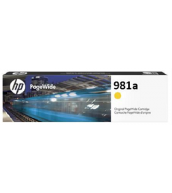 Ink HP No 981A Yellow PageWide EnterPrice