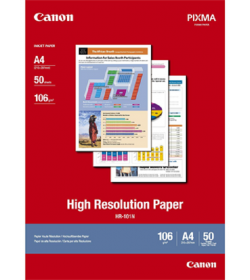 High Resolution Paper Canon HR-101N A4 50Shts 106g