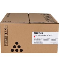 Toner Ricoh SP5200HE Black - 25k Pgs