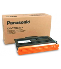 Toner Panasonic DQ-TCD025X Black 25k