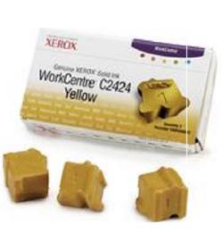 Ink Colorstix Laser Xerox 108R00662 3 Yellow 3.4k