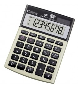 Calculator Canon Desktop Dual Power 8 Digit LS-80TEG