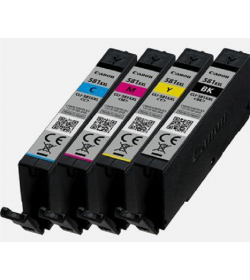 Canon CLI-581XXL BK,C,M,Y Extra High Yield Ink Cartridge Multi Pack
