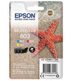 Ink Epson T03U540 C13T03U540 Color Multipack 2.4ml x 3