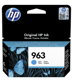 HP 963 Cyan Ink Cartridge ( 3JA23AE )