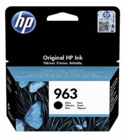HP 963 Black Ink Cartridge ( 3JA26AE )