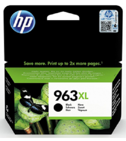 HP 963XL High Yield Black Ink Cartridge ( 3JA30AE )