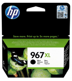 HP 967XL Extra High Yield Black Ink Cartridge ( 3JA31AE )