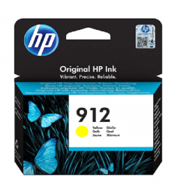 HP 912 Yellow Ink Cartridge ( 3YL79AE )