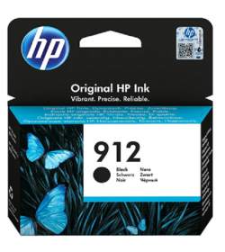 HP 912 Black Ink Cartridge ( 3YL80AE )