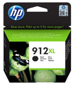 HP 912XL High Yield Black Ink Cartridge ( 3YL84AE )
