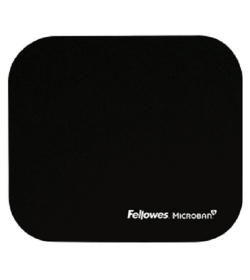 Fellowes Mousepad Microban BLACK