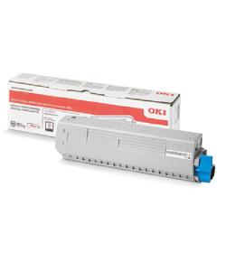 Toner Laser Oki 47095704 Black - 5K Pgs
