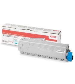 Toner Laser Oki 47095703 Cyan - 5K Pgs