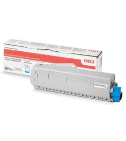 Toner Laser Oki 46861307 High Capacity Cyan - 10K Pgs