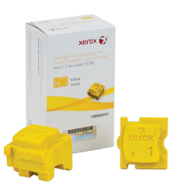 Xerox 108R00997 ColorCube 8700-8900 Yellow 2 sticks 4200pgs