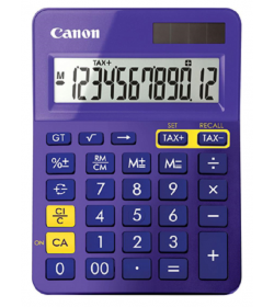 Calculator Canon LS-123K Metallic Purple
