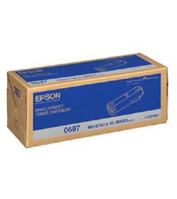 Toner Laser Epson C13S050697 Black 23.7K Pgs