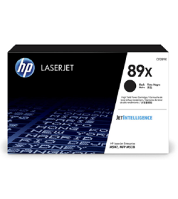 HP 89X Black LaserJet Toner Cartridge CF289X ( 10K )