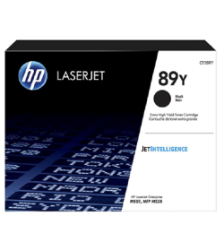 HP 89Y Black LaserJet Toner Cartridge CF289Y ( 20K )